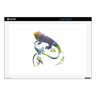 Iguana Decal For Laptop