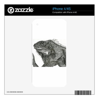 Iguana Decal For The iPhone 4S