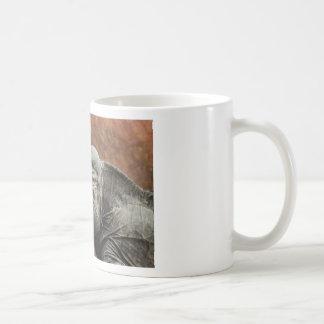 Iguana del rinoceronte taza