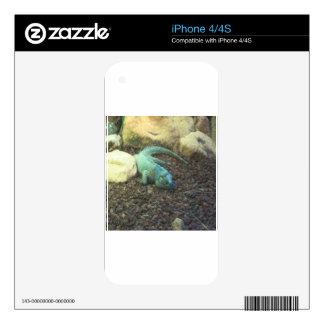 Iguana Dracon iPhone 4S Skins