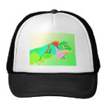 Iguana en color gorro