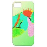 Iguana en color iPhone 5 carcasa