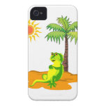 Iguana en el desierto Case-Mate iPhone 4 cárcasa