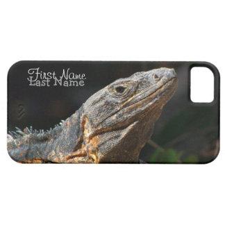Iguana en el Sun; Personalizable iPhone 5 Carcasa