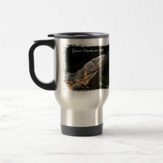 Iguana en el Sun; Personalizable Taza De Café