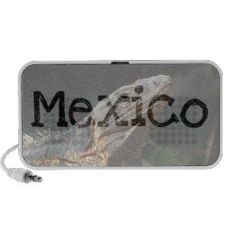 Iguana en el Sun; Recuerdo de México Laptop Altavoces