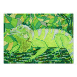 Iguana exótica posters