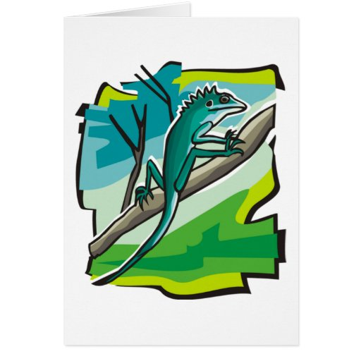 Iguana Felicitacion