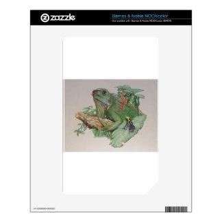Iguana/Frog looking on Skins For NOOK Color