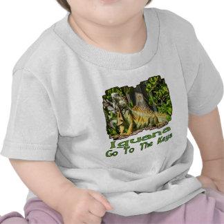Iguana Go To The Keys T Shirts