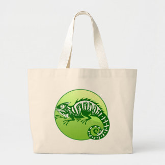 IGUANA GREEN CIRCLE PRODUCTS BAGS