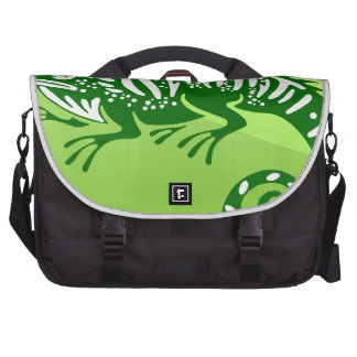 IGUANA GREEN CIRCLE PRODUCTS BAG FOR LAPTOP