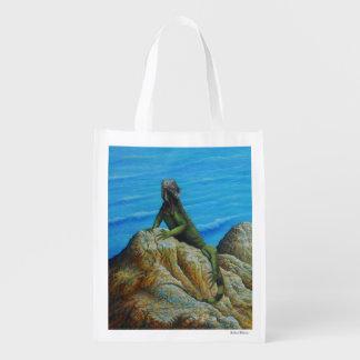 Iguana Grocery Bag