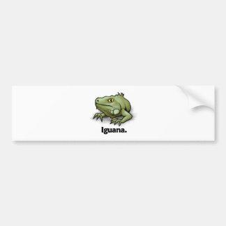 Iguana Iguana. Bumper Sticker