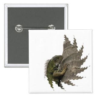 Iguana Image Pin