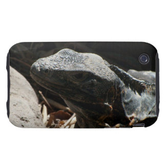 Iguana in the Shadows iPhone 3 Tough Case