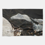 Iguana in the Shadows Kitchen Towels