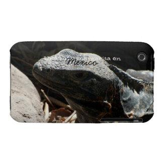 Iguana in the Shadows; Mexico Souvenir Case-Mate iPhone 3 Case