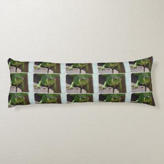 Iguana in the Tropics Body Pillow