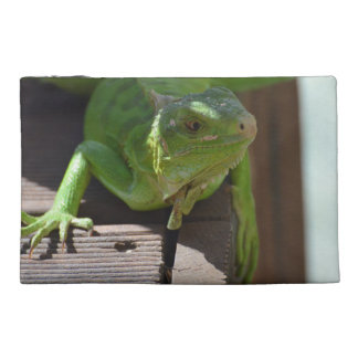 Iguana in the Tropics Travel Accessories Bags