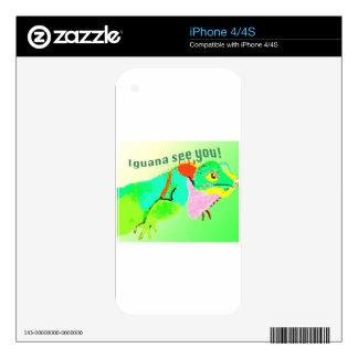 Iguana iPhone 4 Skin