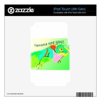 Iguana iPod Touch 4G Skin