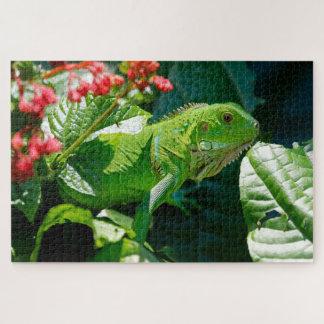 Iguana Jigsaw Puzzle