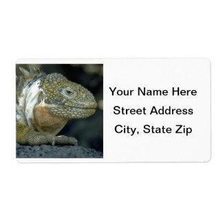 Iguana Label