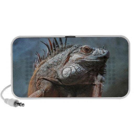Iguana Laptop Altavoces