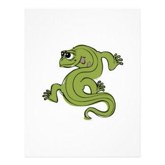 Iguana Letterhead Template