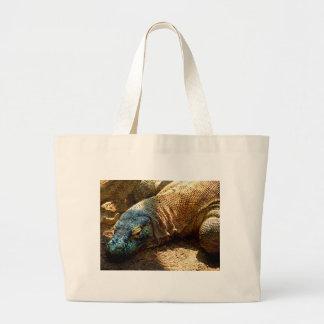 Iguana Lizard Tote Bag