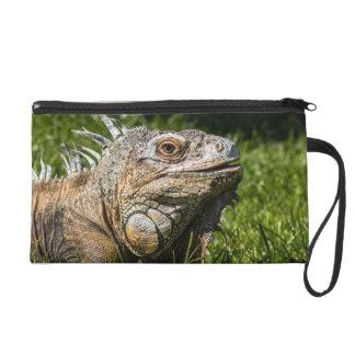 Iguana Lizard Wristlet Purses