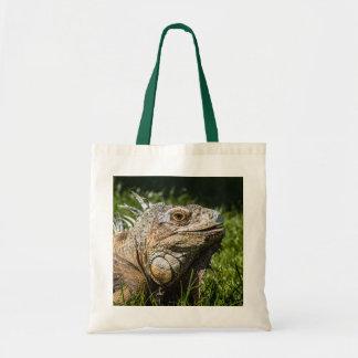 Iguana Lizard Canvas Bag