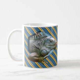 Iguana Lizard Coffee Mug Funny For Him Animal