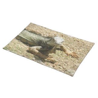 Iguana Lizard Placemat Cloth Place Mat