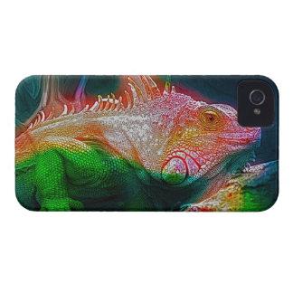 Iguana Lizard Reptile Fantasy Art iPhone 4 Case