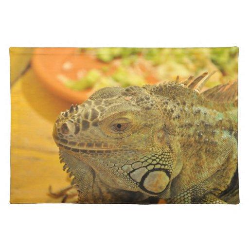 Iguana Manteles Individuales