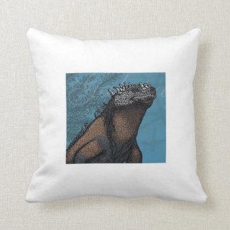 Iguana marina almohada