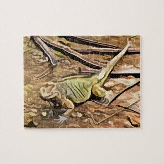 iguana painting jigsaw puzzle