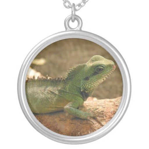 Iguana Photos Necklace