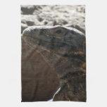 Iguana Portrait Hand Towels