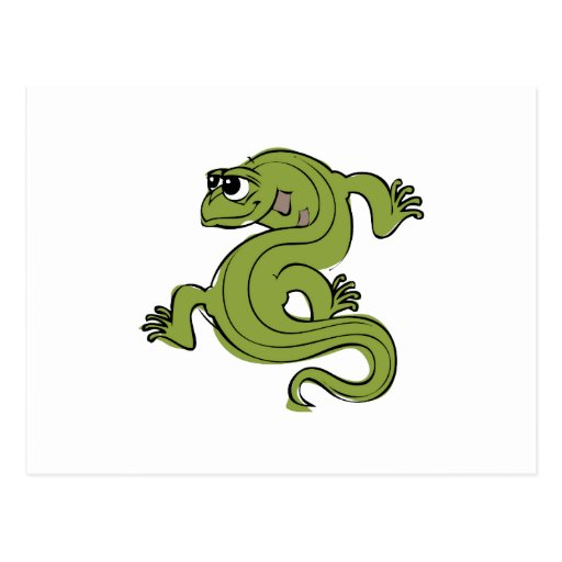 Iguana Post Card