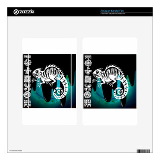 IGUANA PRODUCTS KINDLE FIRE DECALS