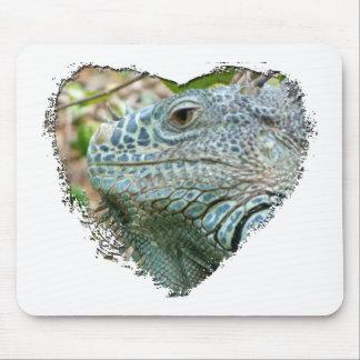 Iguana Profile Mouse Pad