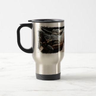 Iguana Skin Detail 15 Oz Stainless Steel Travel Mug