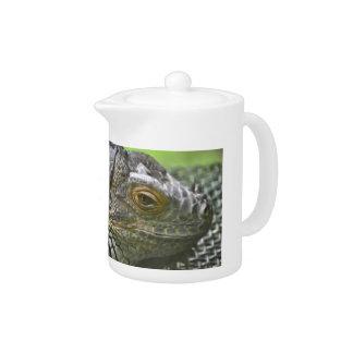 Iguana Teapot