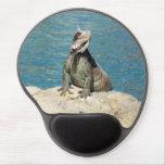 Iguana Tropical Wildlife Gel Mouse Pad