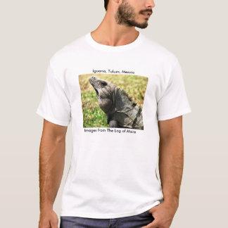 Iguana, Tulum, Mexico T-Shirt