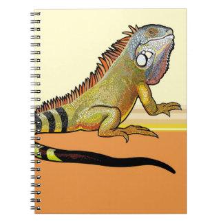 iguana verde libretas