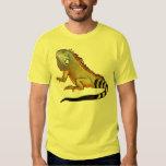 iguana verde remera